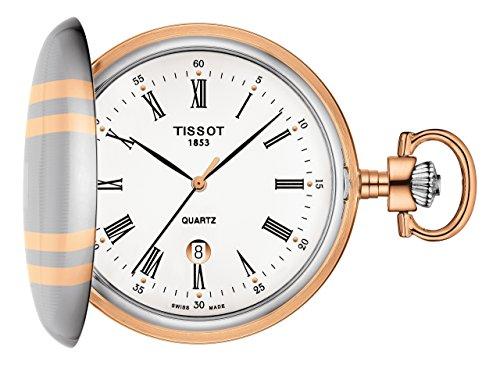 Tissot-Taschenuhr-Savonette-Quarz-T8624102901300