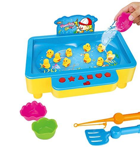 Brigamo-Enten-angeln-Wasserspielzeug-Angelspiel-Kinderspiel-fr-2-Spieler