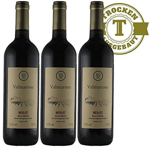 Rotwein-Italien-Merlot-2015-trocken-3-x-075l-VERSANDKOSTENFREI