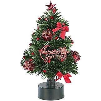 Monsterzeug-Leuchtender-Mini-Weihnachtsbaum-Kleiner-Christbaum-mit-LED-Beleuchtung-LED-rot-und-grn-batteriebetrieben-23-cm