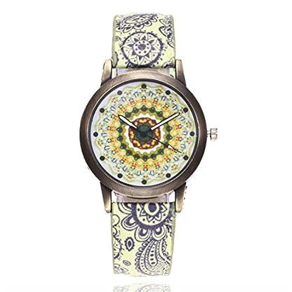 62adb7077d8268 ▻ Günstig Souarts Damen Armbanduhr Bohemian Stil Mandala Muster ...