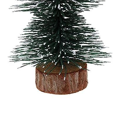 Sharplace-1pcs-Mini-Knstlich-PVC-Weihnachtsbaum-Kunstbaum-Tannenbaum-fr-Weihnachten-Dekoration-Grn