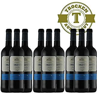 Rotwein-Spanien-Rioja-Pueblo-Viejo-Tempranillo-2016-halbtrocken-9-x-075l-VERSANDKOSTENFREI