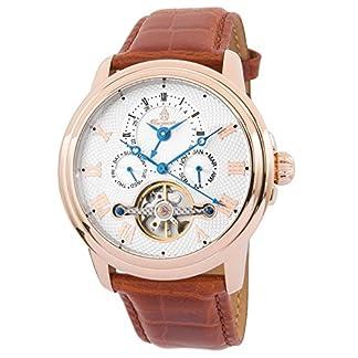 Burgmeister-Armbanduhr-fr-Herren-mit-Analog-Anzeige-Automatik-Uhr-und-Lederarmband-Wasserdichte-Herrenuhr-mit-zeitlosem-schickem-Design-klassische-Uhr-fr-Mnner-BM128-385-Trafalgar