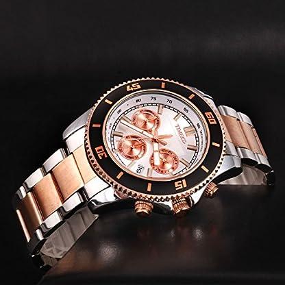 Time100-Vatertag-Chronographuhr-Armbanduhr-Herrenuhr-Quarzuhr-Gold-W70081G03A