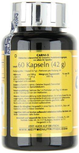 Scitec Nutrition Mega Carni-x, 60 Kapseln
