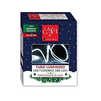 Viscio-Trading-Haus-und-xristmas-LED-Schlauch-180-wei-EIS-Kunststoff-wei-1500-x-3-x-3-cm
