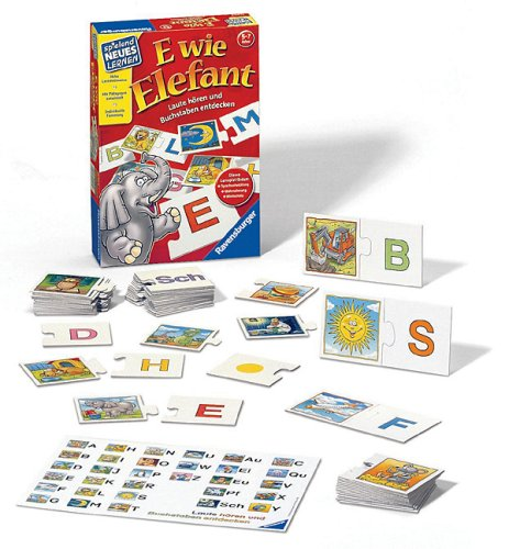 Ravensburger-25005-E-wie-Elefant