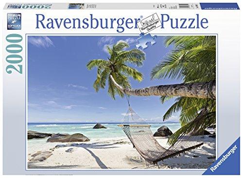 Ravensburger-Puzzle-16699-Hngematte-Am-Strand