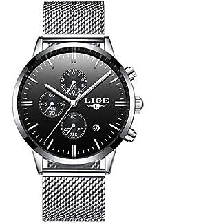 LIGE-Herren-Uhr-Analog-Quarz-mit-Edelstahl-Armband-9834