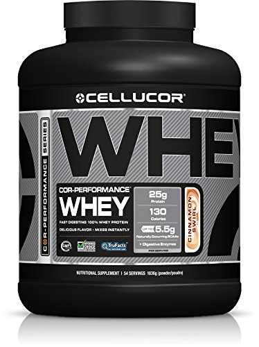 Cellucor Cor Performance Whey Protein Cinnamon Swirl, 1er Pack (1 x 1.8 kg)