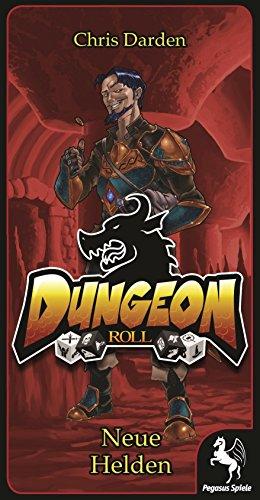 Pegasus-Spiele-51931G-Dungeon-Roll-Booster-Neue-Helden-Brettspiele