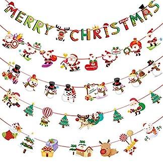 YHmall-5-Stck-Weihnachtsgirlande-Girlande-Weihnachten-Deko-Christmas-Weihnachtsdeko-MEHRWEG