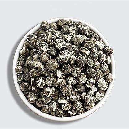 Hoher-Qualitt-Jasmin-Blumen-Tee-100g-022LB-Premium-Jasmin-Perlen-chinesischer-organischer-grner-Tee-Hardcover-duftendes-Tee-Grnfutter