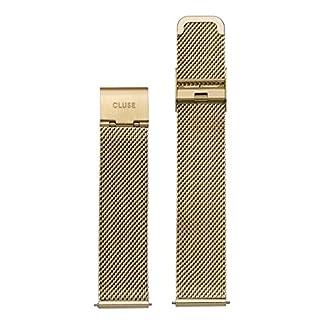 Cluse-Damen-Armbanduhr-Zubehr-Metallbnder-Edelstahl-La-Bohme-Strap-Mesh-gold-CLS046