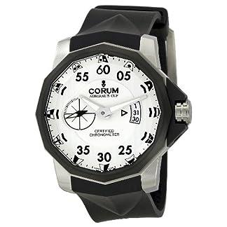 Admirals-Cup-Competition-Limited-Chronometer-Herrenuhr-Edelstahl-Zifferblatt-wei-Saphirglas-Kautschukband