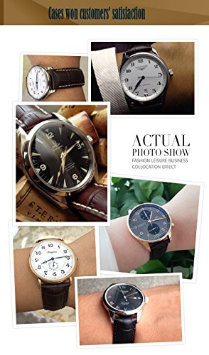 Leder-Uhrenarmband-20mm-Schwarz-Uhrenarmbnder-Leder-Armband-mit-Edelstahl-Faltschliee-Schwarz-Braun-18mm-19mm-20mm-21mm-22mm