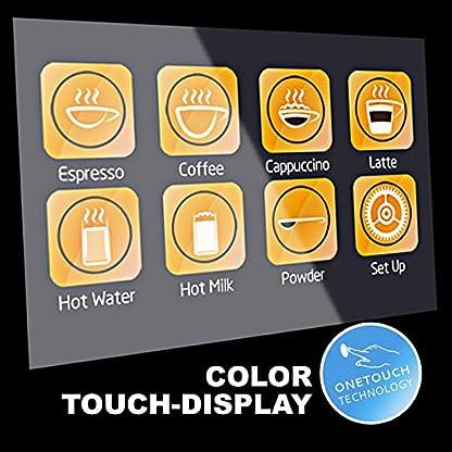 Kaffeevollautomat-EASY-TOUCH-Caf-Bonitas-Touchscreen-Dualboiler-19-Bar-Kaffeeautomat-Kaffeemaschine-Kaffee-Espresso-Latte