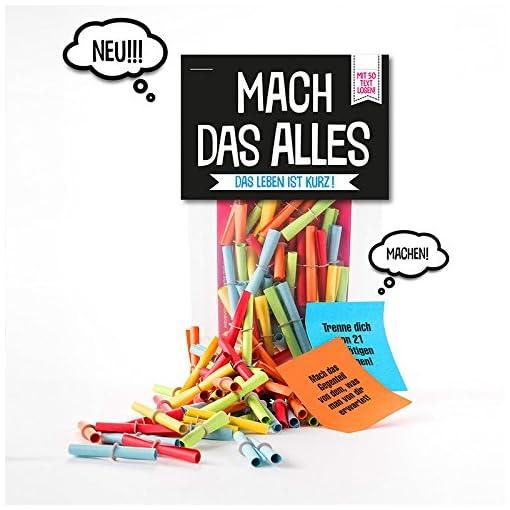 We-love-Bunt-Verlosungsspiel-50-Lose-Mach-das-Alles-Verlosungsset-fr-jede-Altersklasse-als-Geschenk-mit-tollen-Aufgaben-je-Los-Spiel-und-Spa-mit-lustigen-Herausforderungen