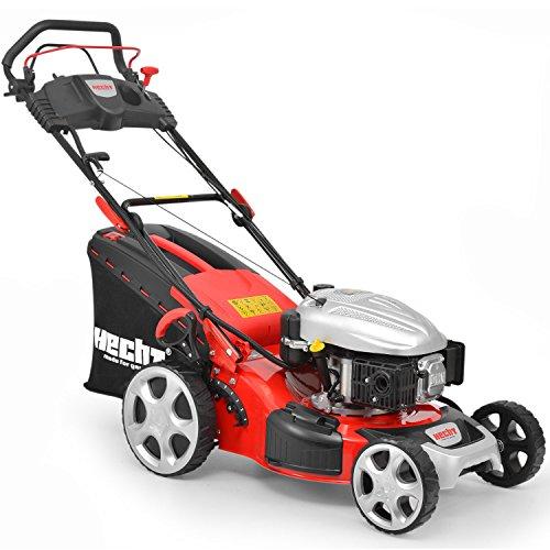 HECHT-HECHT548SWE-Benzin-Rasenmher-548-SWE-37-kW50-PS-Elektro-Start-Schnittbreite-46-cm-7-fache-Hhenverstellung-25-75-mm