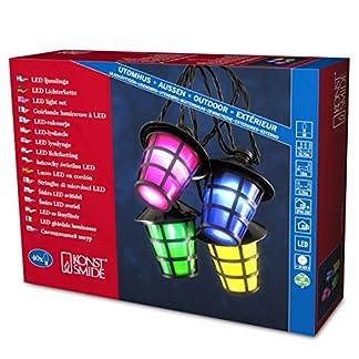Konstsmide-4164-500-LED-Dekolichterkette-bunte-Laternen-fr-Auen-IP44-24V-Auentrafo-40-kalt-weie-Dioden-schwarzes-Kabel