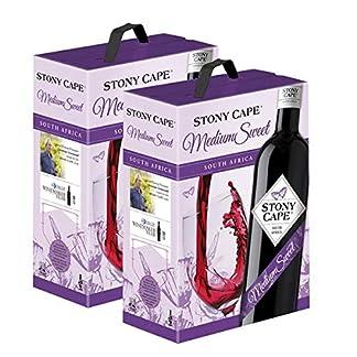 2-x-Rotwein-Sdafrika-Stony-Cape-Medium-Sweet-Cuve-Bag-in-Box-2x30l-VERSANDKOSTENFREI