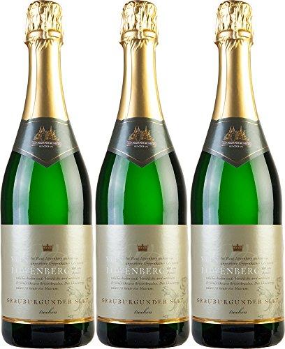 Weinmanufaktur-Gengenbachvon-Lwenberg-Grauburgunder-Sekt-bA-Trocken-3-x-075-l