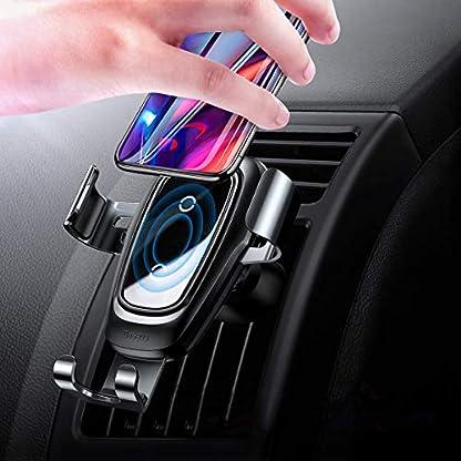 Baseus-Kabelloses-Ladegert-fr-Autos-Qi-Auto-drahtloses-Ladegert-Sowie-Auto-handyhalter-10W-induktiv-Schnelles-Ladestation-fr-iPhone-X-iPhone-88-Plus-Samsung-Galaxy-S9-S9-Plus-S8-S8-Plus
