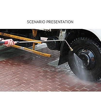 4000PSI-Hochdruckreiniger-Turbodsensprhspitze-360-Grad-drehbar-14-Zoll-Schnellkupplung-035