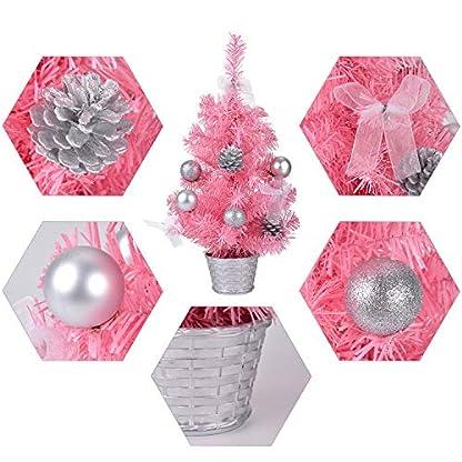 Bageek-Mini-Weihnachtsbaum-177in-Weihnachtsbaum-kreative-knstliche-Miniatur-Urlaub-Baum-Tabletop-Ornament