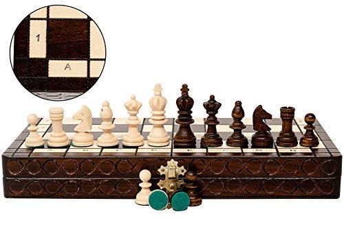 Super-GROE-OLYMPISCHE-35cm14-Turnier-aus-Holz-Schachspiel