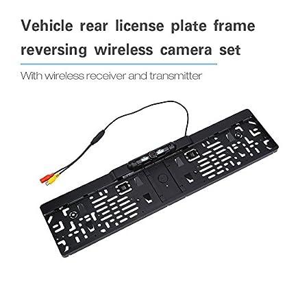 Cocoarm-Wireless-Rckfahrkamera-Nummernschild-HD-Backup-Kamera-Kit-4IR-Funk-Rckfahrkamera-170Winkel-Wasserdicht-Rckfahrsystem-Nachtsicht-Funktion