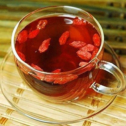 Neue-getrocknete-Goji-Beeren-50g-011LB-Nespera-Wolfsbeere-Chinesischer-Gouqi-Krutertee-duftender-Tee-Blumentee-Botanischer-Tee-Krutertee-Grner-Tee-Roher-Tee-Blumen-Tee-Chinesischer-Tee
