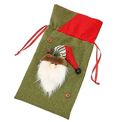 Amphia-Geschenkbox-Weihnachts-Sigkeiten-Tasche-Santa-Claus-Snowmen-GeschenkTasche-Kinder-AufbewahrungsBeutel