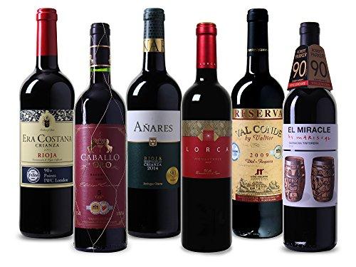 Wein-Probierpaket-erlesene-Rotweine-aus-Spanien-Trocken-6-x-075-l