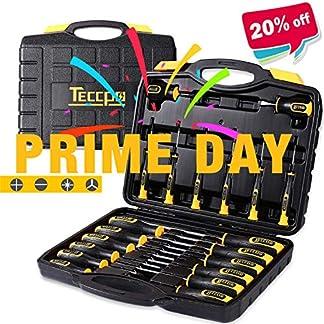 Werkzeugkoffer-TECCPO-Professional-102-teiliger-Werkzeugset-Hammer-Schlssel-und-Schraubendreher-Premium-Universal-Werkzeugkoffer-ideal-fr-Reparaturen-und-die-Haushalts-Wartung-THTC01H