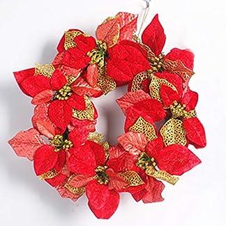 ZXPAG-Weihnachtliche-Krnze-Girlanden-Weihnachten-Kranz-fr-Tr-und-Fenster-auen-Deko-Wandkranz-Kranz-Girlande