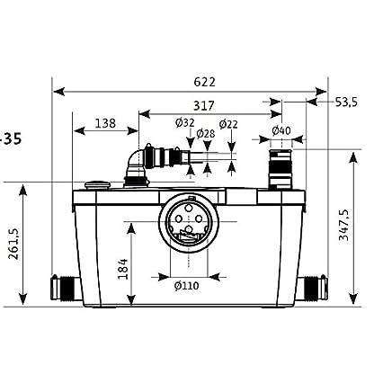 WILO-HiSewlift-3-35-Klein-Hebeanlage-Abwasserpumpe-Fkalien-WC-mit-Schneidwerk-Hcksler-4191677