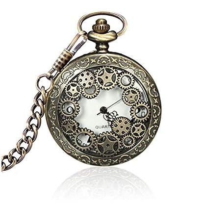 SODIALR-Retro-Steampunk-Taschenuhr-Quarz-Kettenuhr-Uhren-Anhaenger-Halskette-Geschenk