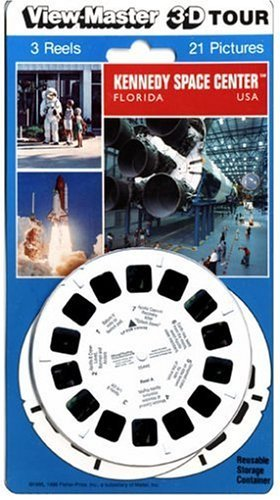 View-Master-3D-3-Reel-Card-Kennedy-Space-Center-Florida-by-View-Master