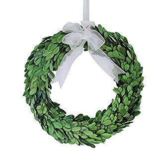 besttoyhome-Rund-konserviert-Buchsbaum-Kranz-in-grn-Weihnachten-Krnzen-Urlaub-Krnzen