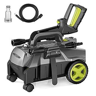 Hochdruckreiniger-Autlead-HP01A-Reiniger-mit-hoher-Pumpleistung-390-LiterStunde-100-bar-mobiler-und-tragbarer-Hochdruckreiniger-mit-Aluminiumpumpe-und-einstellbarer-3-in-1-Dse-1400-Watt-5-m-Kabel-5-m-