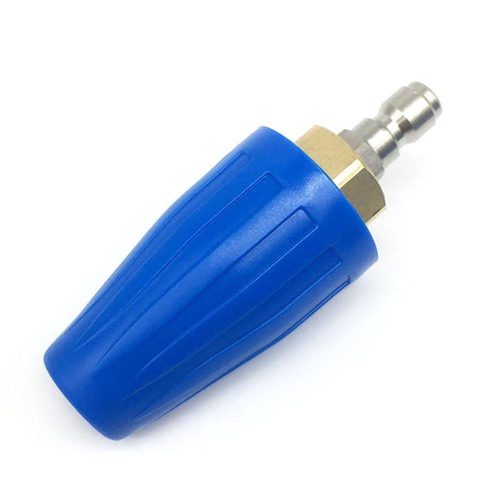 YOKING-Turbo-Dse-fr-Hochdruckreiniger-Spray-Dse-Tipps-Kit-0–15–25–40–65-yk-4b45-N-4000-PSI-45gpm-mit-1102-cm-QD-Stecker-blau-Keramik-Dse-Gre-45