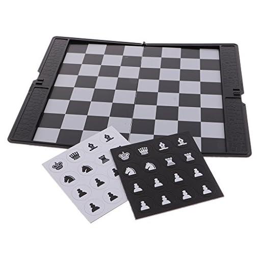 MagiDeal-Mini-Magnetisches-Schach-Schachspiel-Satz-1-Faltbare-Schachbrett-32-Schachfiguren
