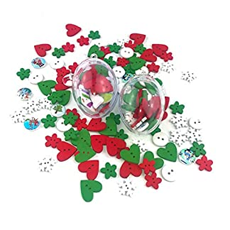 Skraft-10St-Transparente-Kugel-Weihnachtskugeln-Hngende-Kugel-aus-Kunststoff-zum-Befllen-mit-Schlaufe-fr-Haus-Bro-Urlaub-Party-Dekoration