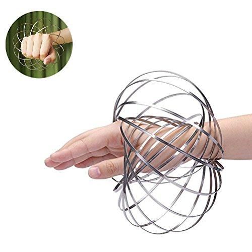 VORCOOL-Flow-Ring-Magic-Ring-3D-Frhlings-Metallringe-Magic-Flow-Ring-fr-Kinder-Erwachsene-Antistress-Spielzeug
