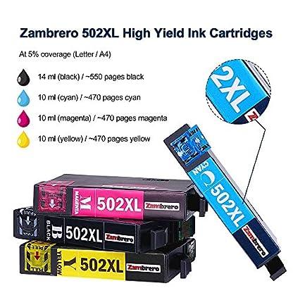 Zambrero-502-Druckerpatronen