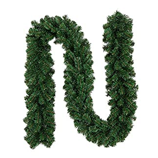 1-STK-Tannengirlande-Knstlich-fr-Weihnachten–270cm-10629–Deko-Girlande-im-Tannengrn-flexibel-einsetzbar-im-Innen-und-Aussenbereich-Weihnachtliche-Fensterdekoration-Trdekoration