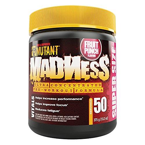 Mutant – Mutant Madness ( 50serv. – 375g ) – Fruit Punch