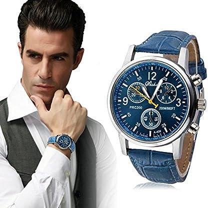 CRRE-Herren-Uhr-Quarz-Chronograph-Wasserdichte-Uhr-Business-Casual-Sport-Design-Mode-Krokodil-Kunstleder-Uhr